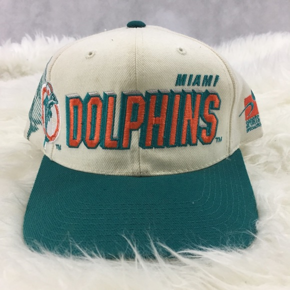 a1a2f109d Vintage Miami Dolphins Pro Line SnapBack Hat NFL. M 5b7cef155fef3735848f7835
